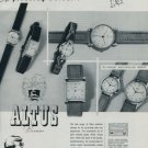 Altus Watch Company 1951 Swiss Ad Bienne Switzerland Suisse Horlogerie Advert