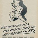 1953 KIF 370 Parechoc Company Switzerland Vintage 1953 Swiss Ad Suisse Advert Horology