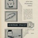 Audemars Piguet Watch Company Vintage 1953 Swiss Ad Switzerland Suisse Advert