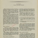 1954 The Problem of Lubrication in Horology Vintage 1954 Swiss Magazine Article Horology