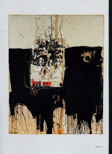 Manolo Millares Cuadro 42 Art Ad Advertisement