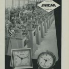 1949 Enicar Clock Company Switzerland Vintage 1949 Swiss Ad Suisse Advert Alprosa