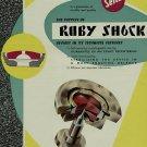 1956 Seitz Ruby Shock Company Switzerland Vintage 1956 Swiss Ad Suisse Advert Horology