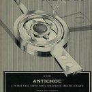 1956 Vibrax Antichoc Company Switzerland Vintage 1956 Swiss Ad Suisse Advert Horology Horlogerie