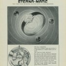 1949 Eterna Watch Company Eterna Matic 1949 Swiss Ad Switzerland Suisse Advert