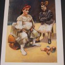 Paula Rego The Portugese Duck Art Ad Advertisement
