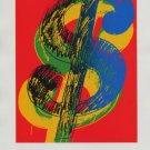 Andy Warhol Dollar Sign (1982) Art Ad