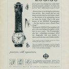 1957 Zodiac Watch Company Zodiac Powergraphic Advert Vintage 1957 Swiss Ad Suisse Advert Horlogerie