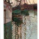 Egon Schiele Hafen Von Triest Art Ad + Detail