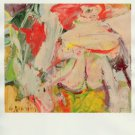 Willem de Kooning Woman in a Forest Art Ad Advertisement