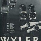 1976 Wyler Watch Company Switzerland Vintage 1976 Swiss Ad Suisse Advert Horlogerie