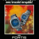 1976 Fortis Watch Company Fortis FairLine Advert Vintage 1976 Swiss Ad Suisse Advert Switzerland