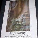 Sonja Eisenberg Vintage 1971 NY Art Exhibition Ad Advert Bodley Gallery NY