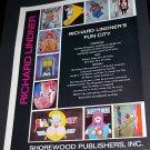 1971 Richard Lindner Fun City Vintage 1971 Art Ad  Advert Advertisement Shorewood