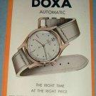 1951 Doxa Watch Company Le Locle Switzerland 1951 Swiss Ad Suisse Advert