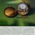 Reuge Watch Company Sainte-Croix Switzerland 1976 Swiss Ad Suisse Advert