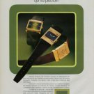 1976 Technos Watch Company Switzerland Vintage 1976 Swiss Ad Suisse Advert Horology