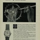 Buren Watch Company Vintage 1956 Swiss Ad Switzerland Suisse Advert Horlogerie