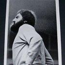 1970 Michelangelo Pistoletto Vintage 1970 Art Exhibition Ad Advert Galleria Dell'Ariete, Milano