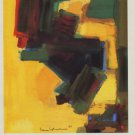 Hans Hofmann 1985 Art Exhibition Ad Orbiting Shapes