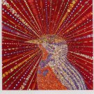 Fred Tomaselli Red Bird Art Ad Advertisement