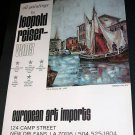 Leopold Reiser-Vany Grado Italien Vintage 1971 Art Ad Advertisement
