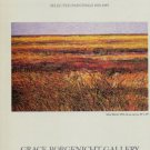 Gabor Peterdi 1985 Art Exhibition Ad Silent Marsh