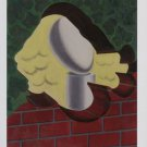 Man Ray Portrait Art Ad Advertisement