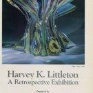 Harvey K. Littleton 1985 Retrospective Art Exhibition Ad