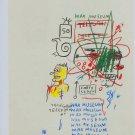 Jean-Michel Basquiat Wax Museum Art Ad Advertisement