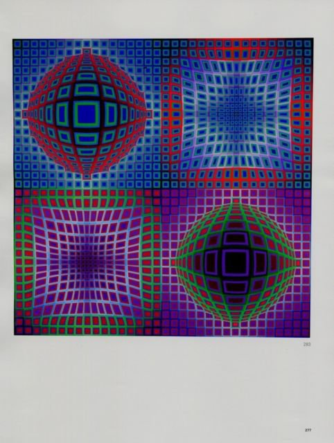 Victor Vasarely VP - STRY Art Ad Advert Advertisement