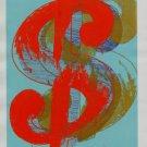 Andy Warhol Dollar Sign Art Ad
