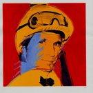 Andy Warhol Willie Shoemaker Art Ad Advertisement