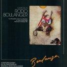 Graciela Rodo Boulanger La Pousette Vintage 1980 Art Ad