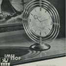 1949 Imhof Clock Company Switzerland Vintage 1949 Swiss Ad Suisse Advert Horology Horlogerie