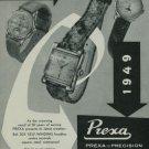 1949 Prexa Watch Company 30 Year Anniversary Vintage 1949 Swiss Ad Suisse Advert Switzerland