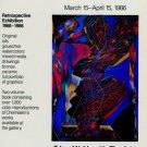 Mihail Chemiakin 1986 Retrospective Art Exhibition Ad Advert Eduard Nakhamkin Fine Arts, NY