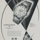 Longines Watch Company Conquest 1959 Swiss Ad Suisse Advert Horlogerie Horology