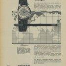 1957 Enicar Watch Company Enicar Sherpas Advert 1957 Swiss Ad Suisse Advert Horlogerie