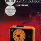 Baduf Badische Uhrenfabrik GmbH Clock Company Germany 1973 Swiss Ad Suisse Advert