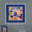 Yaacov Agam Modular Spaceagraph Andromedia 1980 Art Ad Advert Advertisement