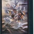Leonardo Nierman 1987 Costa Rica Art Exhibition Ad Advert Museo de Arte Costarricense, San Juan