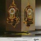 Azura Clock Company Switzerland Vintage 1973 Swiss Ad Suisse Advert Horlogerie