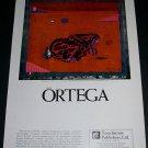 1970 Jose Ortega Espigadores Vintage 1970 Art Ad Advertisement