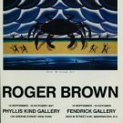 Roger Brown Killer Crab 1987 Art Exhibition Ad Advert Phyllis Kind Gallery Fendrick Gallery