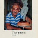 Theo Tobiasse Miriam 1987 Art Ad Advert Advertisement