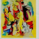Franz Kline Yellow Abstraction Art Ad
