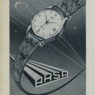 Arsa Watch Company 1956 Swiss Ad Tramelan Switzerland Suisse Horology Advert