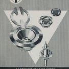 1959 Emo-Vibrax S.A. Company Vintage 1959 Swiss Ad Suisse Advert Horlogerie Horology