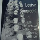 Louise Bourgeois 1991 Art Exhibition Ad Advert Robert Miller Gallery NY
